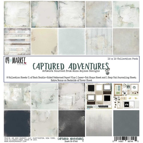 Captured Adventures - 12x12 Collection Pack