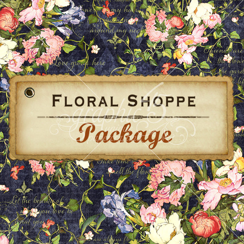 Floral Shoppe - Package - 4 Pieces