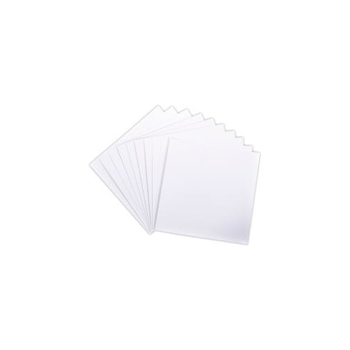 12x12 Heavyweight Cardstock - White