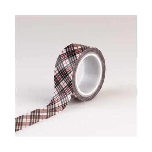 Christmas Delivery - Decorative Tape - Christmas Plaid
