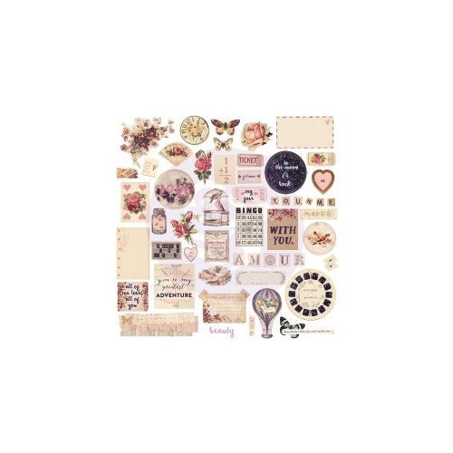 Love Clippings - Chipboard & more