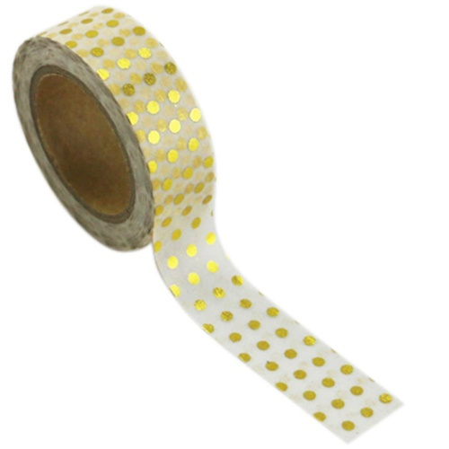 Love My Tapes - Gold Foil Dots