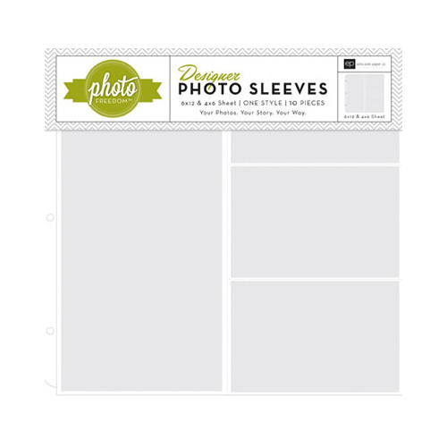 Photo Freedom - Photo Sleeves - 6x12 (sold individua