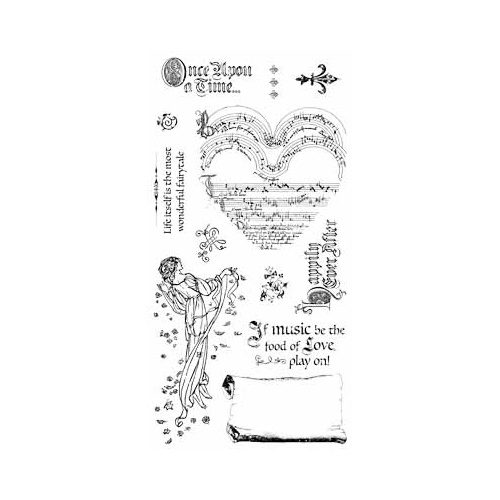 Enchanted Forest - Cling Stamp 3