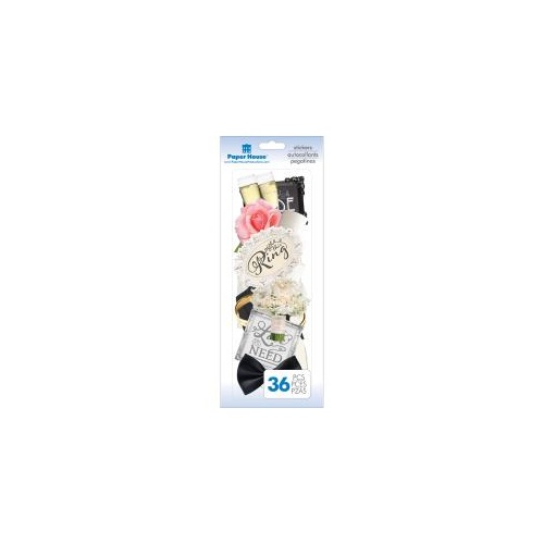Paper House - Self-Adhesive Die-Cuts - Wedding