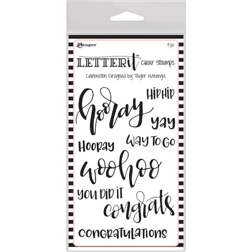 Letter It Clear Stamps - Celebration
