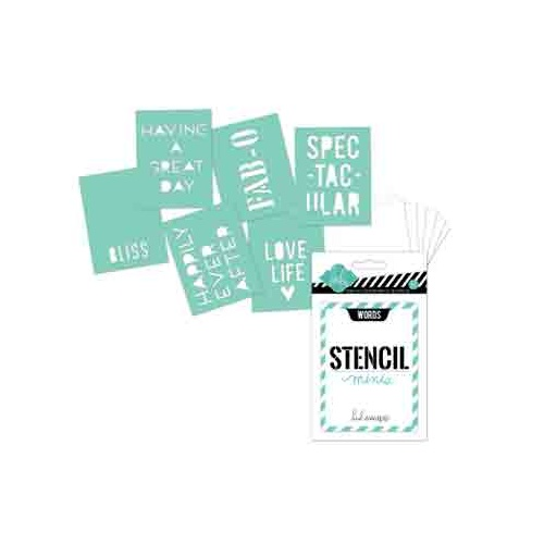 Stencil Mini Kits - Words