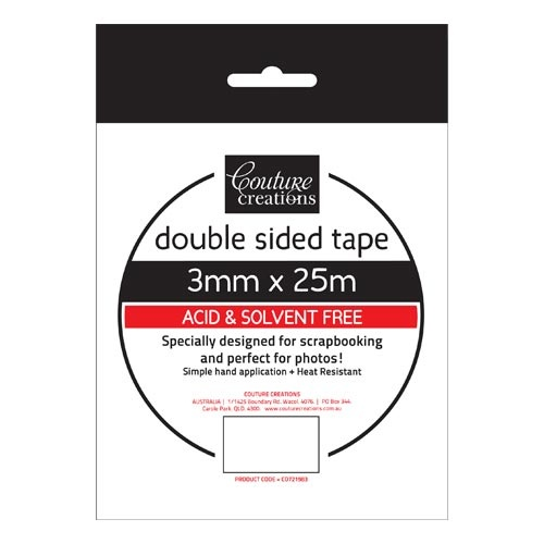 Double Sided Tape 3mmx25m