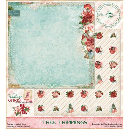 Vintage Christmas 2 - Tree Trimmings