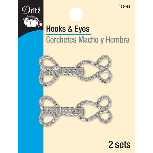 Rope Hook & Eye - Nickel