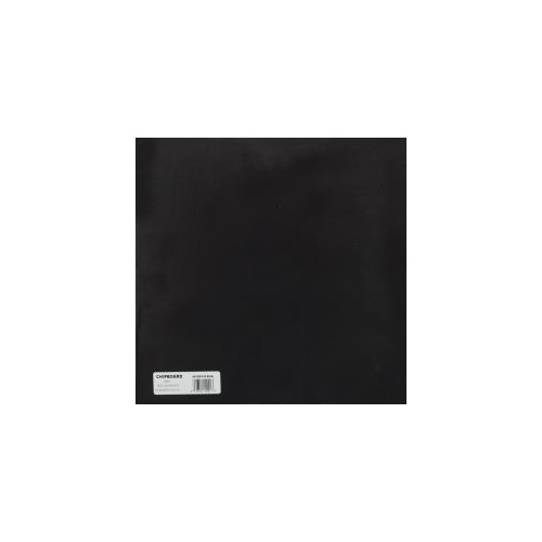 Grafix - Medium Weight Chipboard - Black (1 sheet)