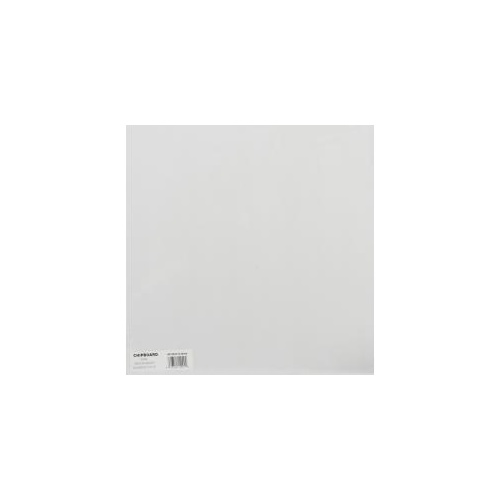 Medium Weight Chipboard - White (1 sheet)