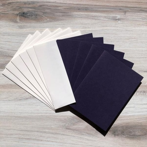 G45 Card & Envelope Set - Deep Purple