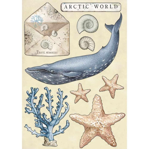 Arctic Antarctic - A5 Wooden Shapes