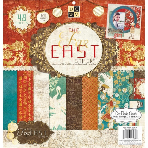 The Far East Stack - 12x12 Paper Pad