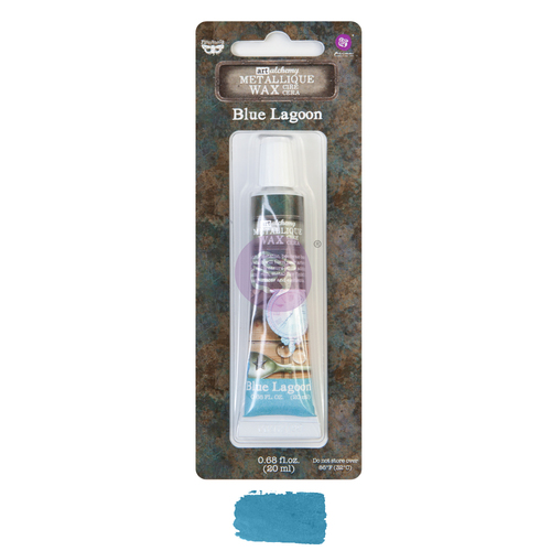 Finnabair Art Alchemy Metallique Wax - Blue Lagoon