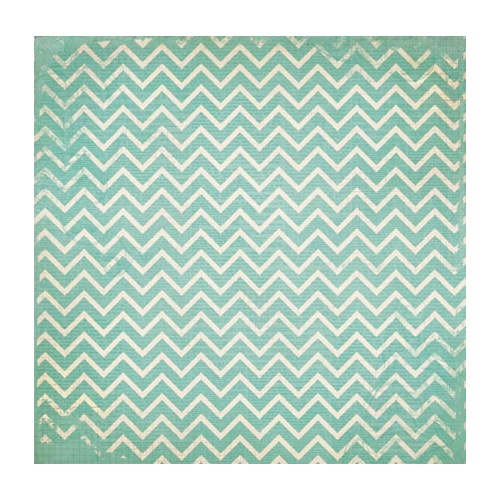 Double Dot Designs - Island Mist Chevron