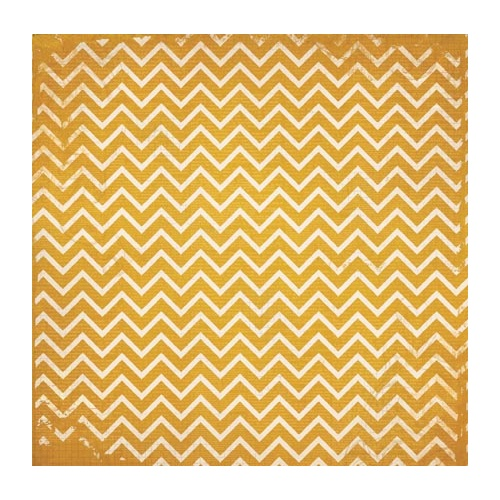 Double Dot Designs - Maize Chevron