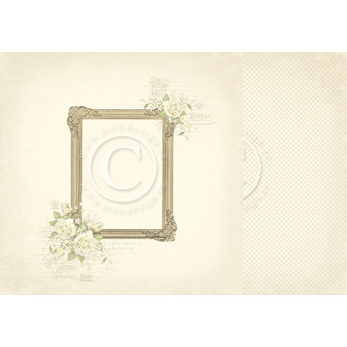 Vintage Wedding - Photo Frame