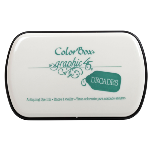 ColorBox Graphic45 Decades Dye Pad - Velvet Teal