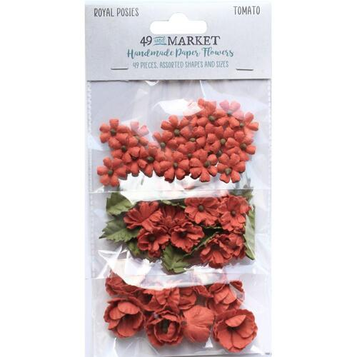 49 and Market - Royal Posies – Tomato Paper Flowers