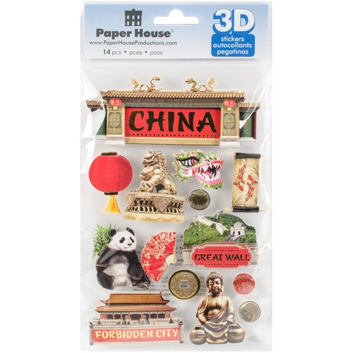 3D Stickers - China