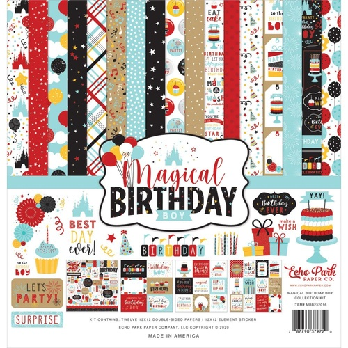 Magical Birthday Boy - 12x12 Collection Kit