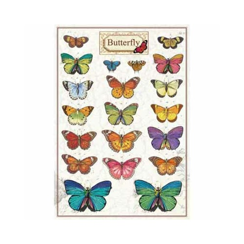 Butterfly -  Labels
