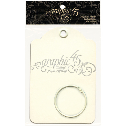 Staples - Regular Tags - Ivory