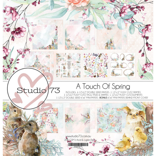 A Touch of Spring - 12x12 Collection Set